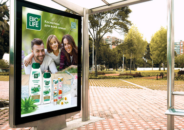 Outdoor posters Biolife