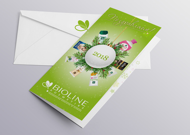 BIOLINE CARD NEW YEAR 2018